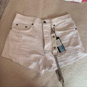 White Chain Titania Lf shorts